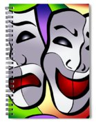 Comedy And Tragedy Spiral Notebook