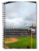Comerica Park Home Of The Detroit Tigers Spiral Notebook