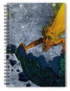 Comet Apocalypse, 1857 Spiral Notebook