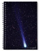 Comet Hyakutake Spiral Notebook