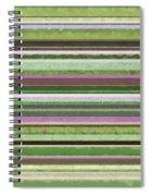 Comfortable Stripes Lv Spiral Notebook