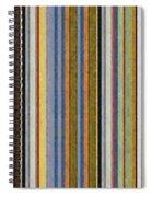 Comfortable Stripes Vlll Spiral Notebook