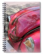 Comical Volkswagen Spiral Notebook