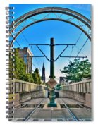 Coming And Going Downtown Main St Spiral Notebook