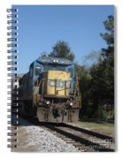 Coming Down The Track Spiral Notebook