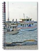 Coming Home - Barnegat Inlet Nj Spiral Notebook
