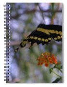 Coming In For A Landing Spiral Notebook