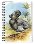Common Dodo Spiral Notebook