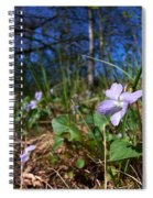 Common Dog-violet Spiral Notebook