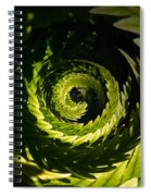 Common Polypody Swirl Spiral Notebook