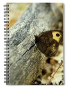 Common Wood-nymph Spiral Notebook