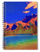 Complementary Mountains Spiral Notebook