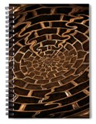 Complicated Journey Spiral Notebook