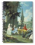 Concert In A Garden Spiral Notebook