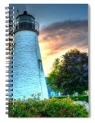 Concord Point Lighthouse 2 Spiral Notebook