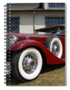 Concours D ' Elegance 1 Spiral Notebook