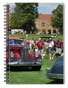 Concours D' Elegance 4 Spiral Notebook