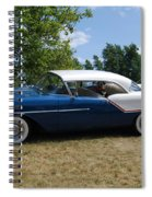 Concours D' Elegance 5 Spiral Notebook