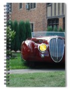 Concours D'elegance 10 Spiral Notebook