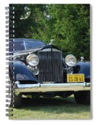 Concours D'elegance 11 Spiral Notebook