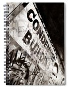 Condemned Building Spiral Notebook