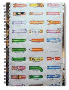 Condom Compendium Sign Thailand Spiral Notebook