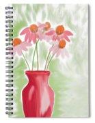 Coneflower Still Life Spiral Notebook
