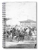 Coney Island, 1877 Spiral Notebook