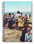 Coney Island: Beach, C1902 Spiral Notebook