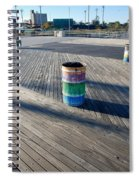 Coney Island Boardwalk Spiral Notebook
