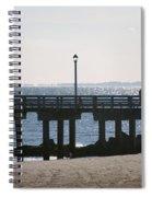 Coney Island Coast Spiral Notebook