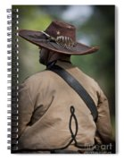Confederate Cavalry Soldier Spiral Notebook