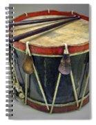 Confederate Drum Spiral Notebook
