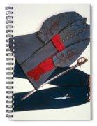 Confederate Uniform Spiral Notebook