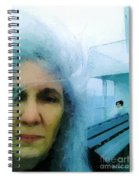 Confronting The Ferryman Spiral Notebook