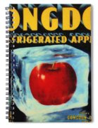 Congdon Refrigerated Apples Spiral Notebook