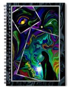 Conjurer Of Dreams And Delusions Spiral Notebook