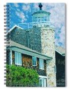 Conneticut Coastal Home Spiral Notebook