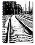 Conneticut Railway Spiral Notebook