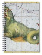 Constellation Of Cetus The Whale Spiral Notebook