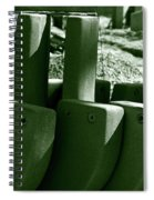Construction Site Curves Spiral Notebook
