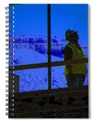 Construction Worker Spiral Notebook