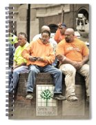 Construction Workers One World Trade Center Spiral Notebook