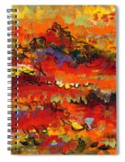 Contemporary Art Twenty Spiral Notebook