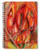 Contemporary Painting Three Spiral Notebook