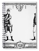 Continental Army Spiral Notebook