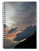 Contrasting Skies Spiral Notebook