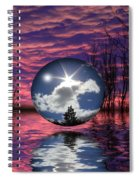 Contrasting Skies Spiral Notebook
