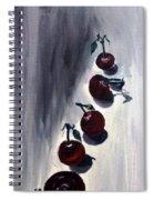 Conversation With Cherries  Spiral Notebook