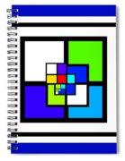 Cool Blue Spiral Notebook